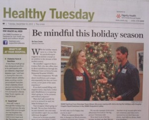 """Healthy Tuesday:"" Not really news"