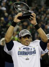 Russell Wilson: He's hoist the real thing Sunday