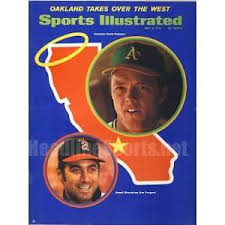Jim Fregosi (left) on the cover of Sports Illustrated.